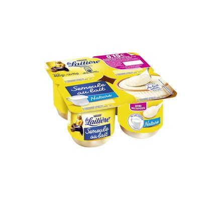 La laitiere semoule au lait nature 4x115g offre decouverte (La laitiere)