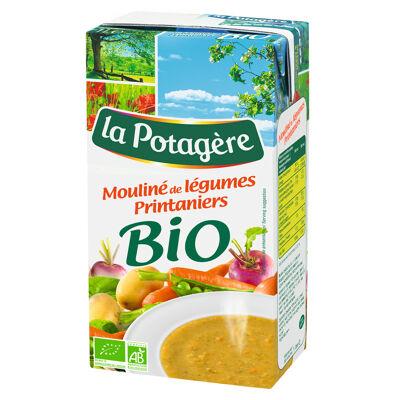 Mouliné légumes printaniers bio 1l (La potagère)