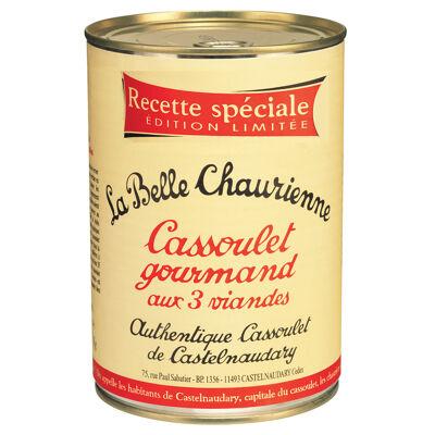 Cassoulet gourmand aux 3 viandes 1050 g (La belle chaurienne)