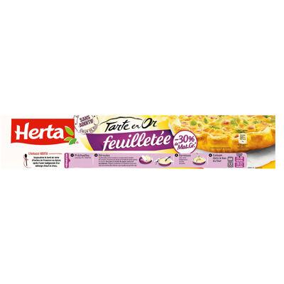 Herta tarte en or pâte feuilletée -30% m.g. lot 2+1 offt - 690g (Herta)