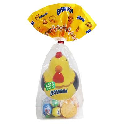 Sachet poule tirelire banania 20x143g (Banania)