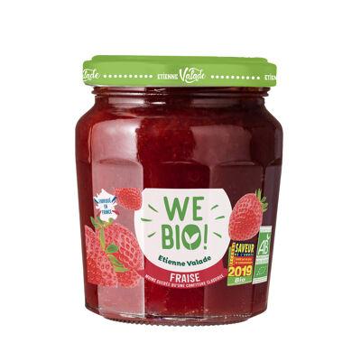 Préparation fraise bio 240g (We bio)