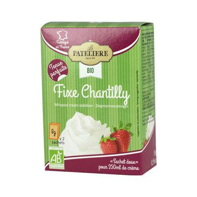 La pateliere / poudres / fixantilly biologique - stabilisateur pour préparations à base de crème fouettée / 2 x 8 g (La patelière)