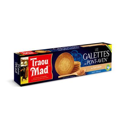 Etui 12 galettes bretonnes au sarrasin 100g traou mad (Traou mad)