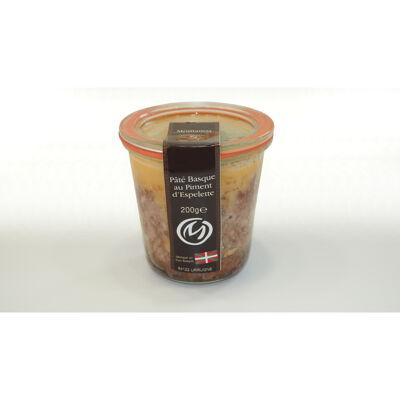 Pâté basque au piment d'espelette 100 g conserve (Maison montamat)