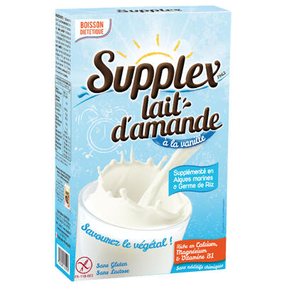 Supplex lait d'amande à la vanille 250g (Supplex)