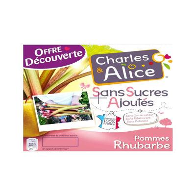 C&a ssa p/rhubarbe 4x97g od (Charles & alice)