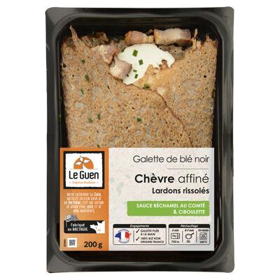 Galettes garnies chevre lardons 200 gr (Le guen)