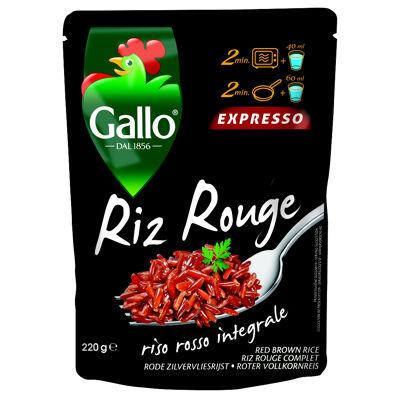 Riz rouge expresso 220g (Riso gallo)