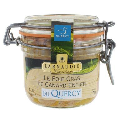 Foie gras de canard entier du quercy bocal le parfait 170g (Jean larnaudie)