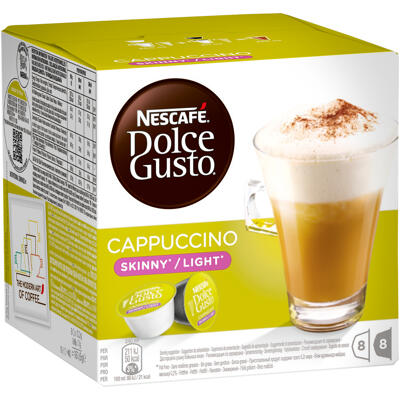 Capsules nescafe dolce gusto cappuccino light 16 capsules (Dolce gusto)