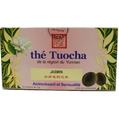 The tuocha jasmin 40g ma par 12 (Mont asie)
