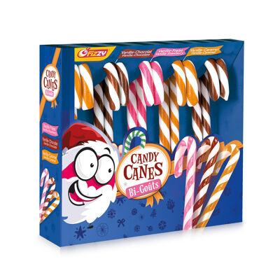 Boîte candy canes bi-goût (Fizzy)