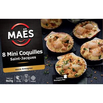 8 mini coquilles saint-jacques (Maes)