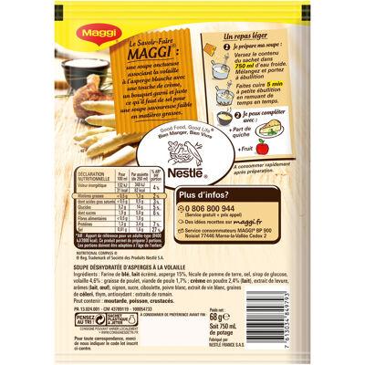Maggi saveur à l'ancienne crème d'asperges à la volaille 68g (Maggi)