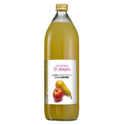 Jus de pomme poire (Les vergers st joseph)