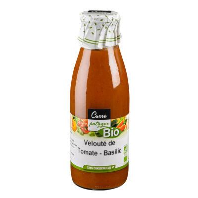 Veloute de tomates au basilic bio (Carre potager bio)