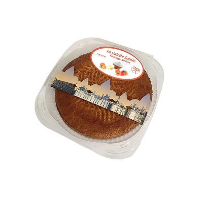Galette sablée abricot 480g avec fève (Bpa)