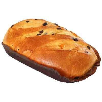 Gache de noel aux eclats de chocolat noir et ecorces d'orange 600g pb marque reservee (Nobrand)
