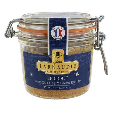 Foie gras de canard entier origine france - le goût - bocal le parfait 170g (Jean larnaudie)