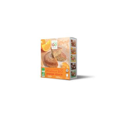 Gâteau bio orange douce 170g (Happy go)