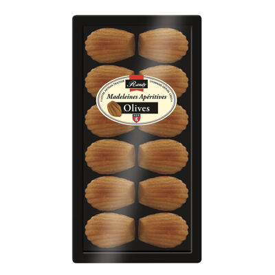 Madeleines aperitives olives 120g (Randy)