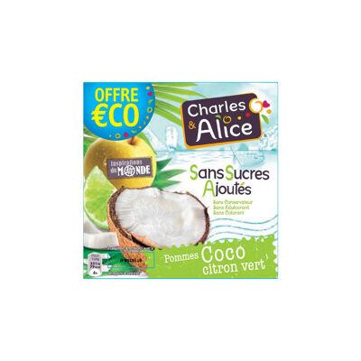 C&a ssa p/coco/citron 4x97g oe (Charles & alice)