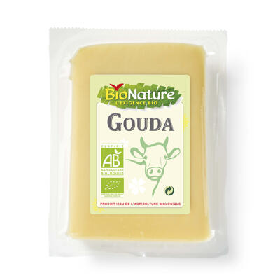 Gouda bio portion 200 gr (Bionature)