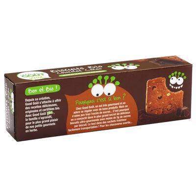 Biscuits bio aux pépites de chocolat et au cacao. (Good goût)