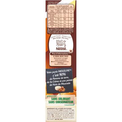 Mousline purée saveur à l'ancienne crème muscade 3x125g (Maggi)