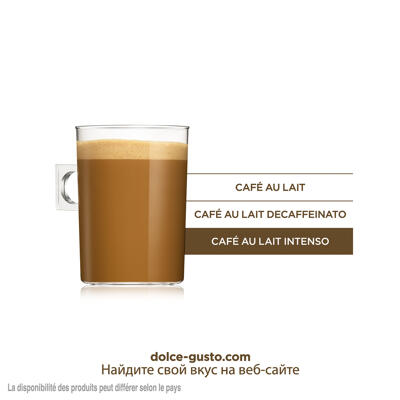 Capsules nescafe dolce gusto café au lait intenso 16 capsules (Dolce gusto)