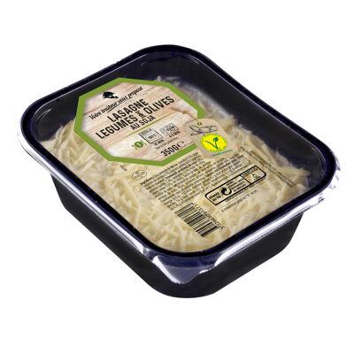 Lasagne légumes soja et olives 350g (Nobrand)