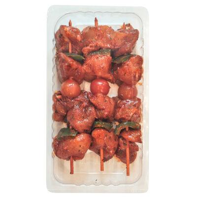 Brochettes de poulet harissa x 3 s/at 550g environ (Charculor)