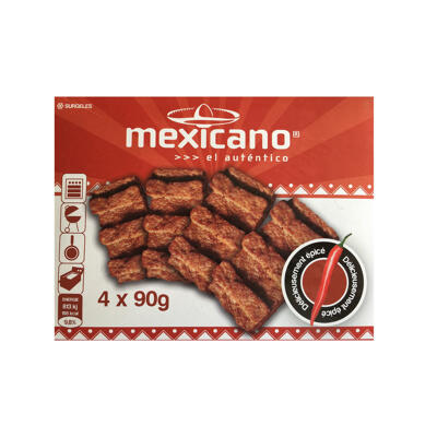 Mexicano autentico 4x90gr ()