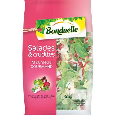Salade & crudités - recette gourmande (Bonduelle)