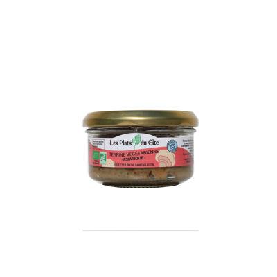 Terrine végétarienne vegan bio asiatique 120 g certifié par fr-bio-01 (Les plats du gite)