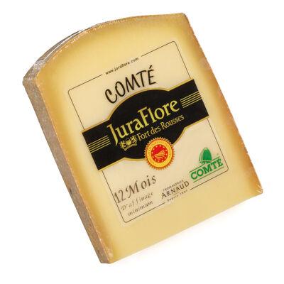 Comte a.o.p. juraflore fort des rousses 1 an 220 g fe 35% mg/produit fini (Juraflore fort des rousses)