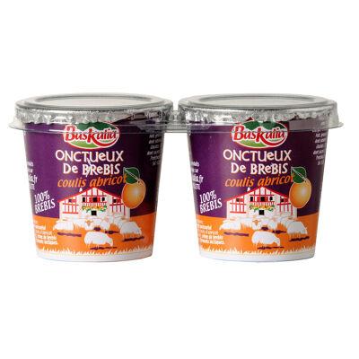Onctueux de brebis abricot 2x110g (Baskalia)