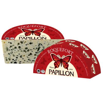 Papillon roquefort demi pain coupe verticale 1,35kg 32% (Papillon)