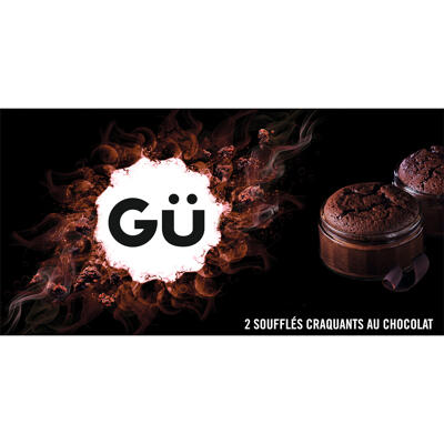 Gü - soufflés craquant au chocolat (2x60g) (Gü desserts)