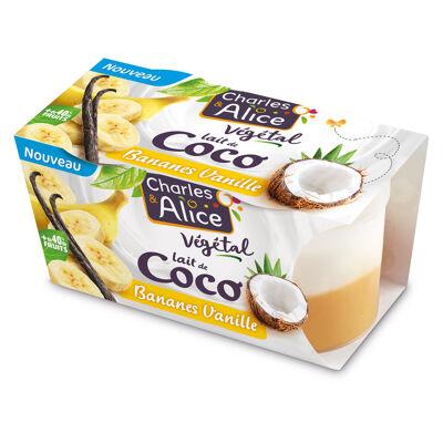 C&a veg coco /banane/vanille x2 (Charles & alice)