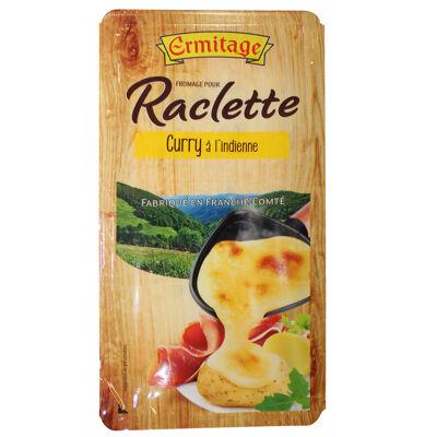 Fromage pour repas raclette curry à l'indienne 200g ermitage (Ermitage)