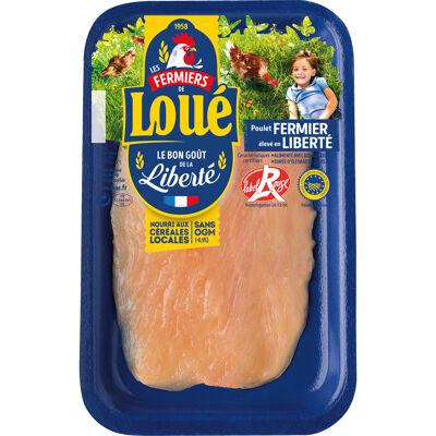 Loué escalope de poulet fine blanc x1 (Loué)