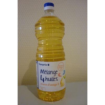 Mélange 4 huiles (Franprix)