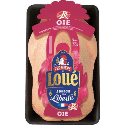 Loué oie fermière label rouge (Loué)