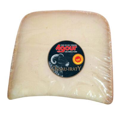 Portion brebis agour aop ossau-iraty 4 mois frais emballé 160g poids fixe (Agour)