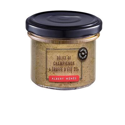 Délice de champignon et truffe 100 g (Albert ménès)