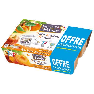 C&a ssa p/abricot 6x100g od (Charles & alice)