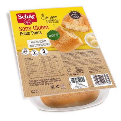 Petits pains 130g (Schär)