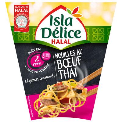 Isla delice box nouilles au boeuf thai 300g (Isla délice)